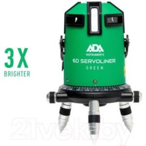 Лазерный нивелир ADA Instruments 6D Servoliner Green / A00500
