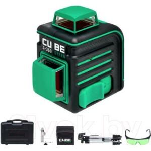 Лазерный нивелир ADA Instruments Cube 2-360 Green Ultimate Edition / A00471