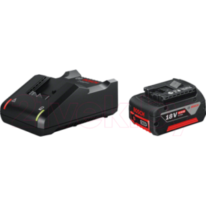 Аккумулятор для электроинструмента Bosch GBA Professional + зарядное GAL 18V-40